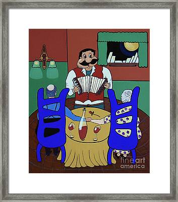 The Anniversary Framed Print by Barbara McMahon