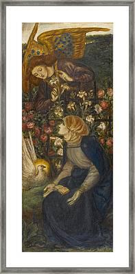 The Annunciation, 1861 Framed Print by Dante Gabriel Charles Rossetti