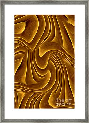 The Annunciation - Abstract Christian Art By Giada Rossi Framed Print by Giada Rossi