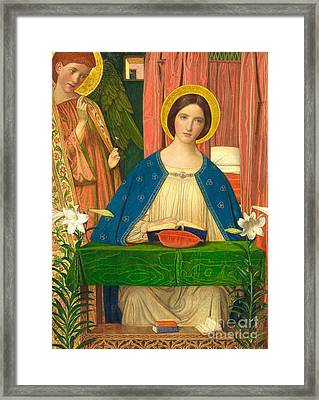 The Annunciation Framed Print by Arthur Joseph Gaskin