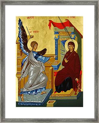 The Annunciation Framed Print by Joseph Malham