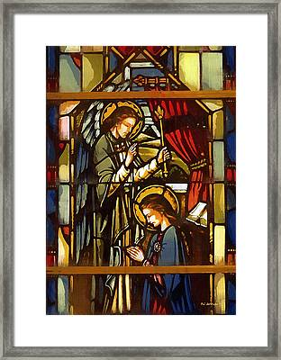 The Annunciation Framed Print by RC deWinter