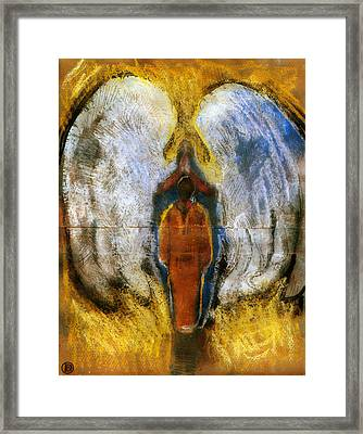 The Annunication #3 Framed Print by Daniel Bonnell