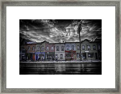 Framed Print featuring the photograph The Answers You Seek Will Never Be Found At Home by Russell Styles