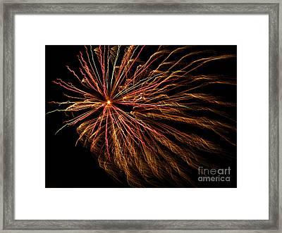 The Anticipated Burst Framed Print by Nick  Boren