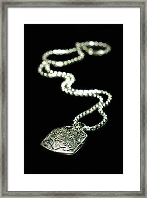 The Antique Locket Framed Print