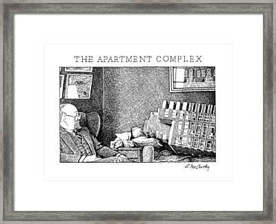 The Apartment Complex Framed Print by Ann McCarthy