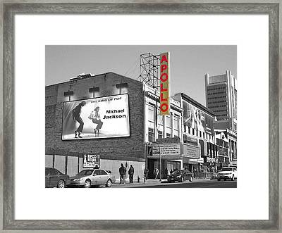 The Apollo Theater Framed Print by Nina Bradica