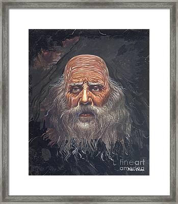 The Apostle John Framed Print by Peter Olsen