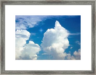 Appearance Of Daylight Framed Print by Kellice Swaggerty