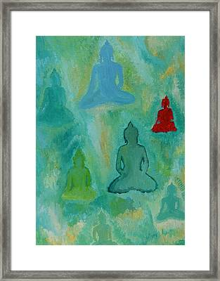 Buddhas Appear Framed Print