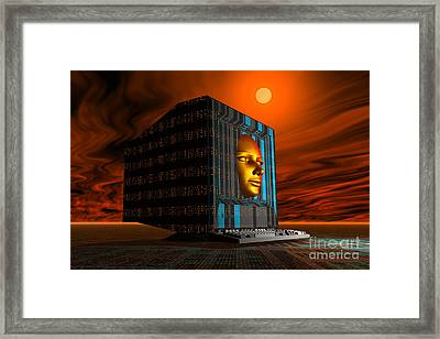 The Appearance Of Mankinds Future Framed Print by Mark Stevenson