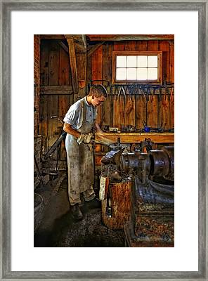 The Apprentice Hdr Framed Print