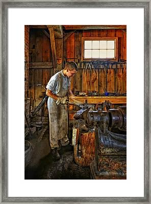 The Apprentice Framed Print