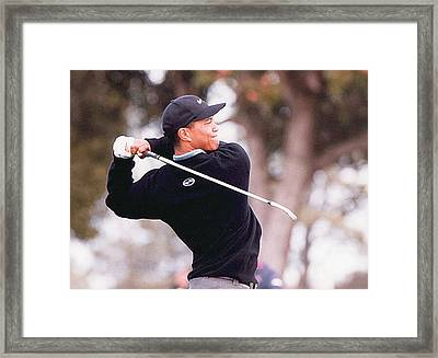 The Approach Framed Print by Don Olea