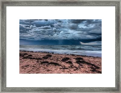 The Approaching Storm Framed Print by Matt Dobson