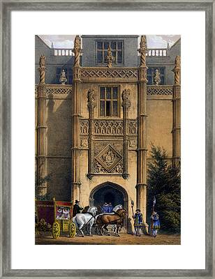 The Arch, Montacute House, Somerset Framed Print