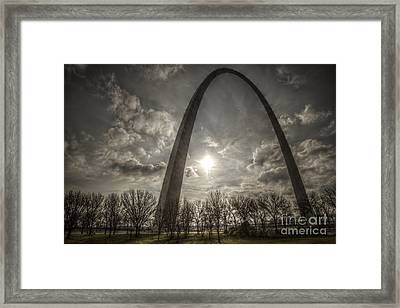 The Arch Framed Print