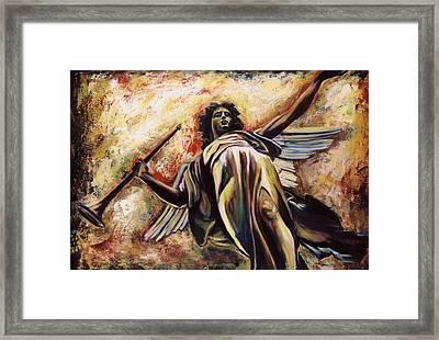 The Archangel Gabriel Framed Print