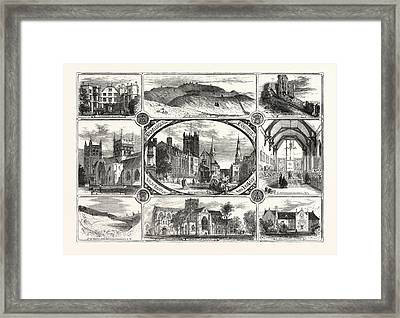 The Archeological Institute Of Great Britain And Ireland Framed Print by Irish School