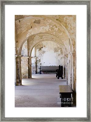 The Arches Of El Morro Framed Print