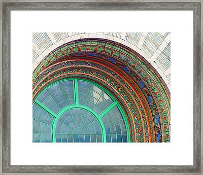 The Arching Entryway Framed Print by Chip Schilling