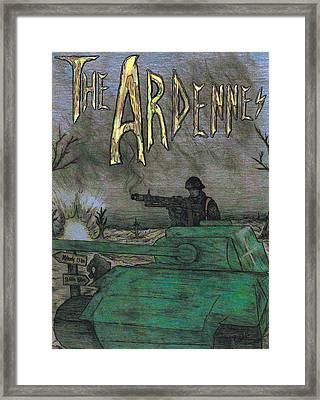 The Ardennes Framed Print