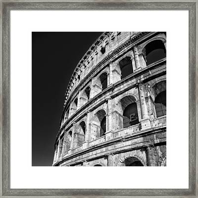 Framed Print featuring the photograph The Arena by Brad Brizek