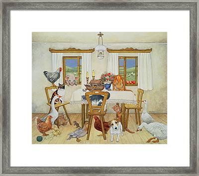 The Ark, 1994 Framed Print by Ditz