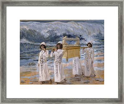 The Ark Passes Over The Jordan Framed Print