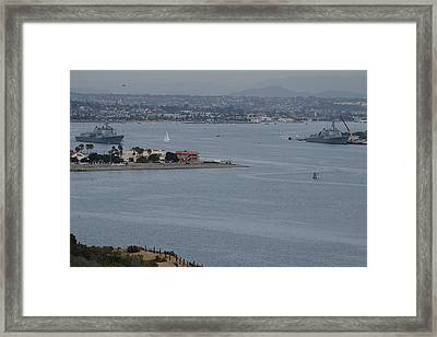 The Arleigh Burke Class Framed Print by See My  Photos