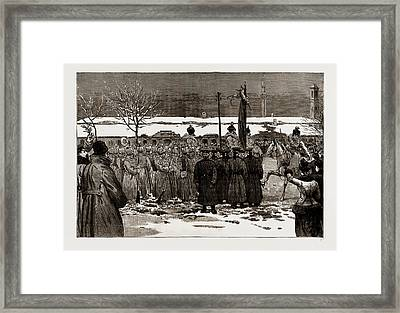 The Armistice Between Serbia And Bulgaria Bulgarian Framed Print by Litz Collection