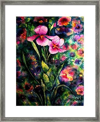 The Aroma Of Grace Framed Print