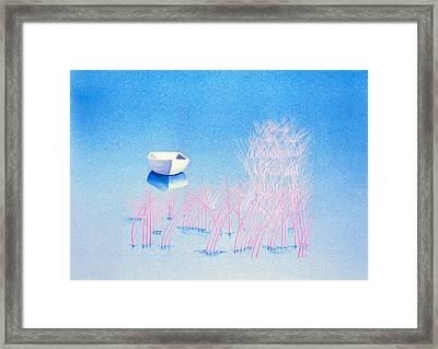 The Arrival Framed Print by Daniele Zambardi