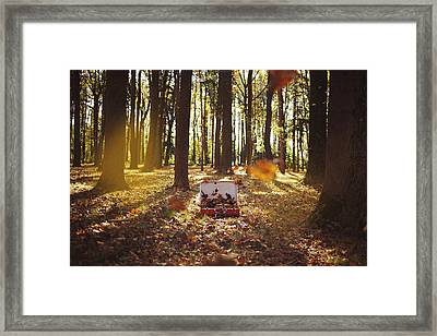 The Arrival Of Autumn Framed Print by Samantha Leonetti