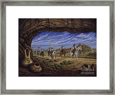 The Arrival Framed Print
