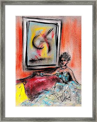 The Art Collector Framed Print