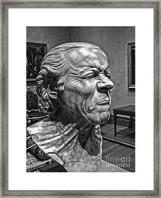 The Art Critic Framed Print by Gregory Dyer