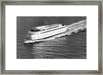 The Art Deco Ferry Kalakala Framed Print by Underwood Archives