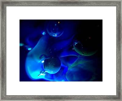Art Glass Project-6 Borosilicate Glass Framed Print by Susan Maxwell Schmidt