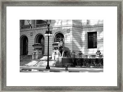 The Art Institute Of Chicago Framed Print