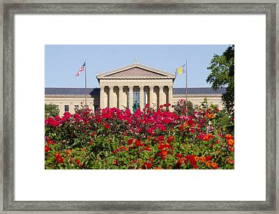 The Art Museum In Summer Framed Print by Bill Cannon