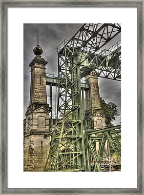 The Art Nouveau Ships Elevator Framed Print by Heiko Koehrer-Wagner