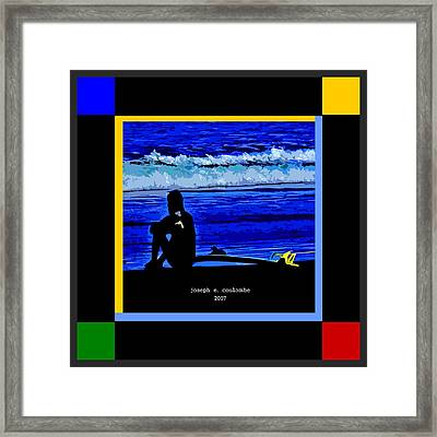 The Art Of A Rubick Surfer Framed Print by Joseph Coulombe