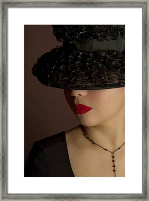 The Art Of Being A Woman Framed Print by Evelina Kremsdorf