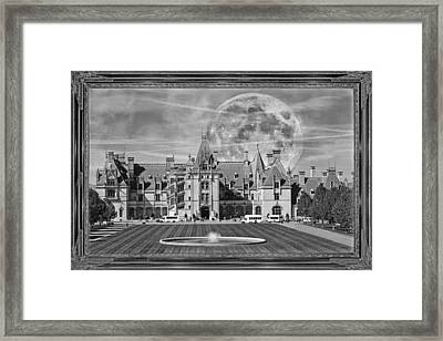 The Art Of Biltmore Framed Print by Betsy Knapp