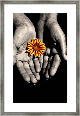 The Art Of Giving Framed Print