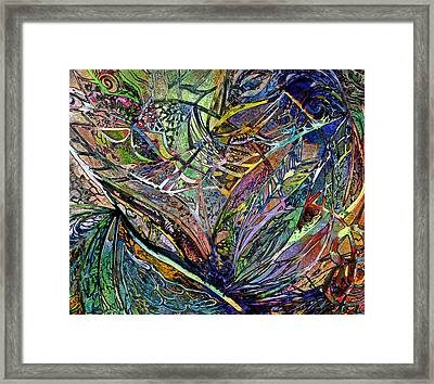 The Art Of Happiness - Abstract Framed Print