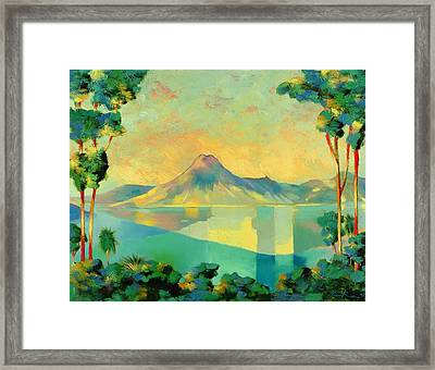 The Art Of Long Distance Breathing Framed Print by Andrew Hewkin