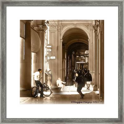 The Art Of Love Italian Style Framed Print